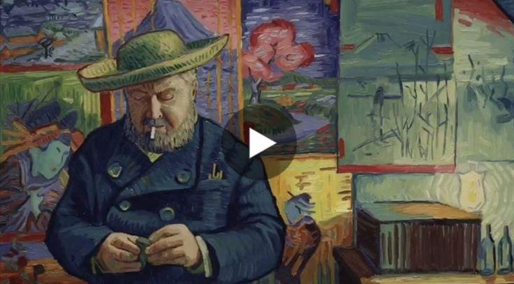 """Si intitola""""Loving Vincent"""" ed è uno straordinario film d'animazione su Vincent van Gogh. Racconta gli ultimi mesi di vita dell'artista e, per la sue real"""