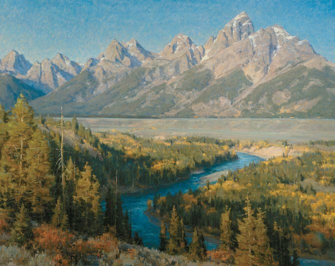 95 Best Great Landscape Paintings! Images On Pinterest