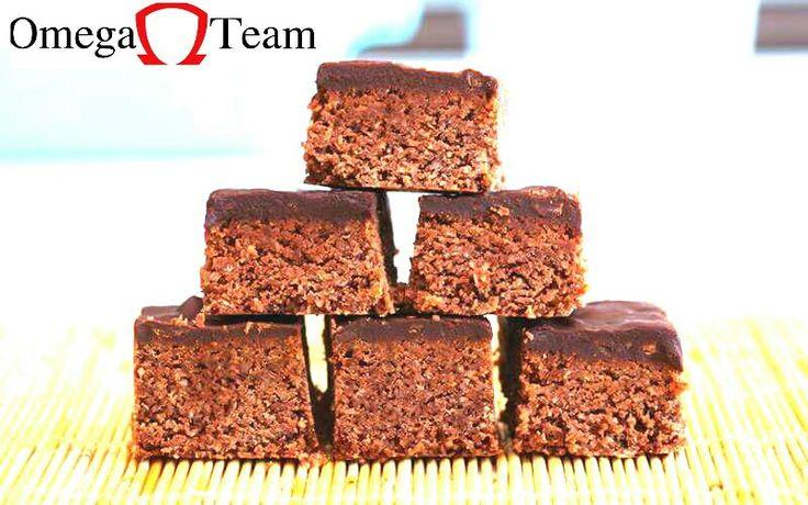 Barras de proteína caseras con un sabor increíble, casi como un brownie pero sin esa culpabilidad...