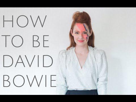 VIDEO>> David Bowie Halloween Costume