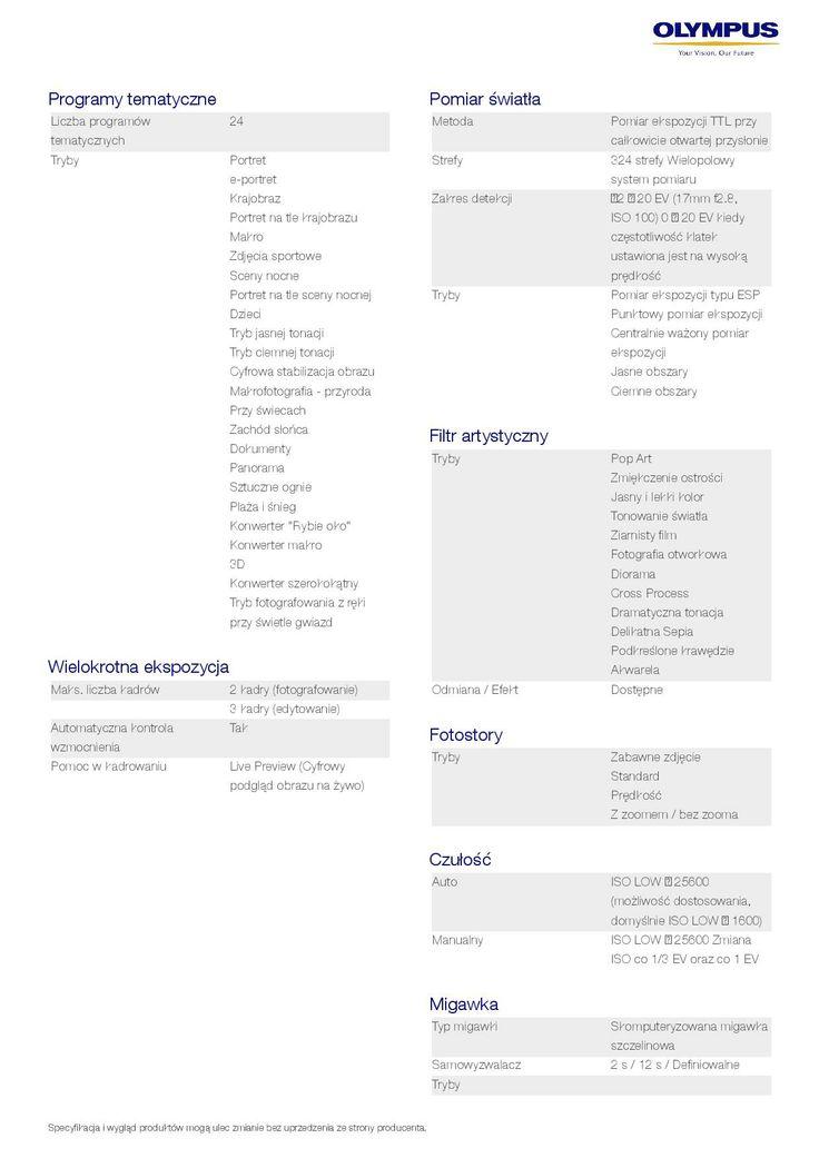 Olympus OM-D E-M10 - specyfikacja 4/9