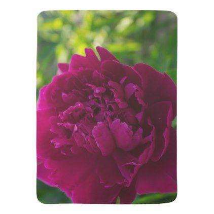 #Pink peony baby blanket - cyo customize do it yourself diy