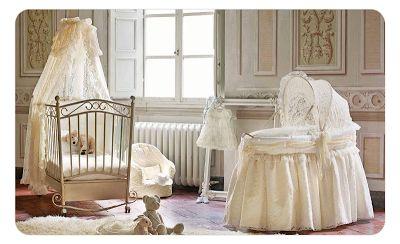 Baby+nursery+antique+lace+bassinet+crib+Punkinpatch.co.uk.png 400×244 pixels