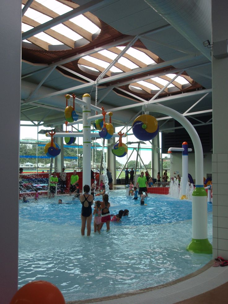 Kids indoor play pool area.  Pool NZ architects.  http://architecturehdt.co.nz/pools
