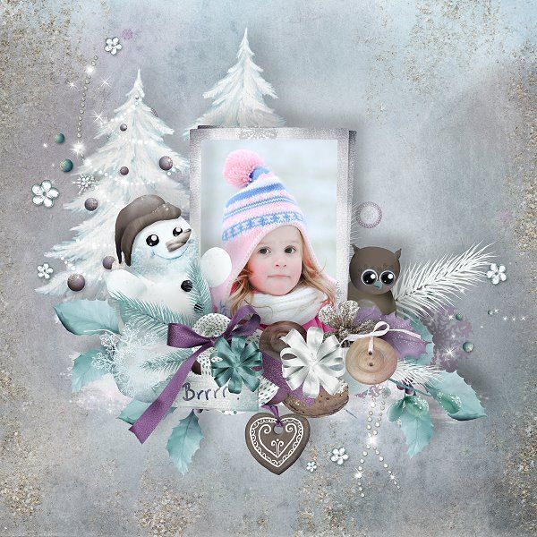 """Kit """" A taste of Winter """" by  SarahH Graphics Photo by Sandra https://www.pickleberrypop.com/shop/manufacturers.php?manufacturerid=99"""