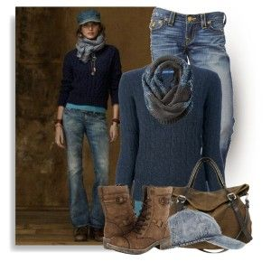fall-fashion-2013 from the scarf, sweater jeans and down to the rocket dog boots