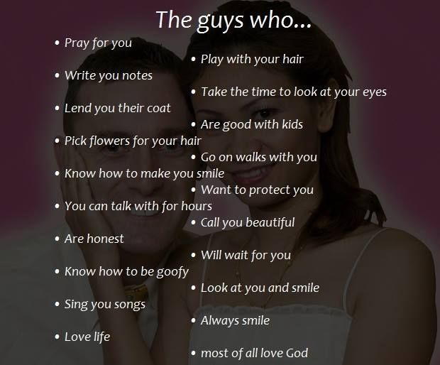 The first and last are the most important things in a guy! These are the guys you women need to look for!  #love #laugh #smile #romance #faith #ladyboy #dating