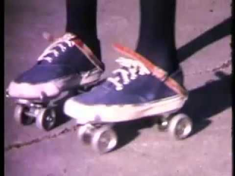 ** THIS will put a skip in your step, I promise!! kb :::: Brand New Key, pair of roller skates - YouTube