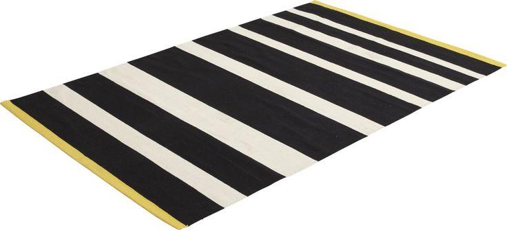 Brilare teppe i 100% bomull. 120x180cm. Kr. 650,-