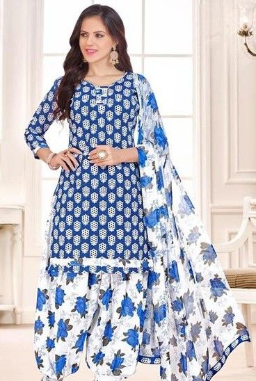 Latest Patiala Salwar Suits Designs 2018
