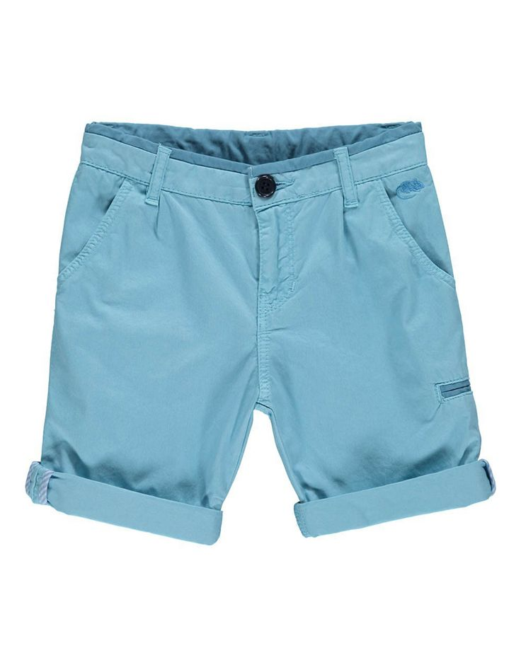 LITTLE MARC JACOBS Boys Light Blue Bermuda Shorts | TILLTWELVE