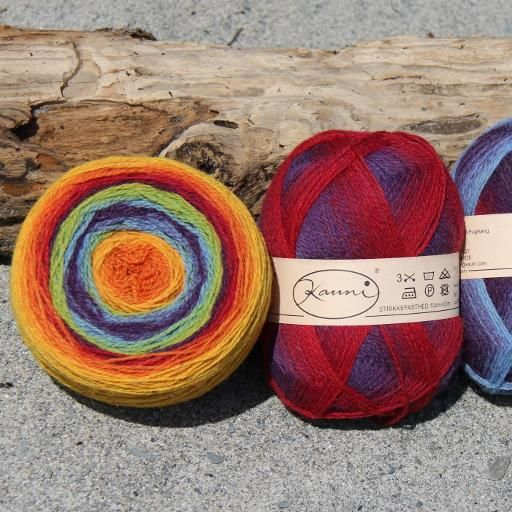 Spectrum (Kauni EQ)  This colourway is a particular favourite for many, including myself!