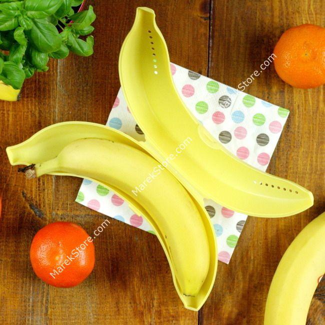Pojemnik na banana ułatwia transport i przechowywanie