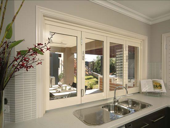 Aluminium Bi-Fold Windows | Aluminium Windows | Stegbar Windows