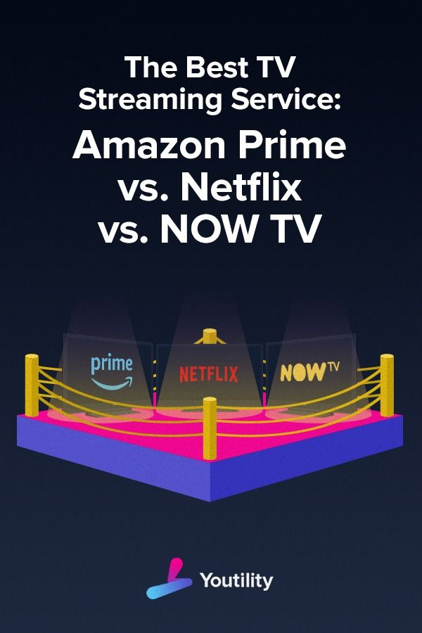 The Three Main Digital Tv Players In The Uk Are Netflix Amazon