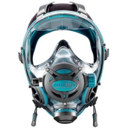 New direction of diving... Full Face Dive Masks! Wider field of vision plus no…