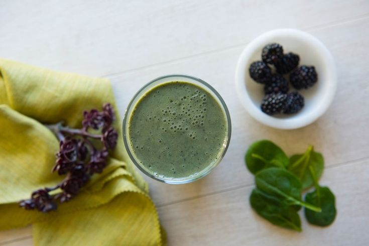 Blackberry Vanilla Blast: Boost your mood and get your essential nutrients with this berry delicious Blast!