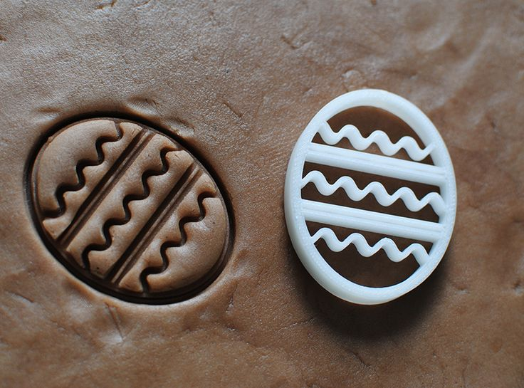 Easter egg cookie cutter - a 3D model by VECTARY | VECTARY
