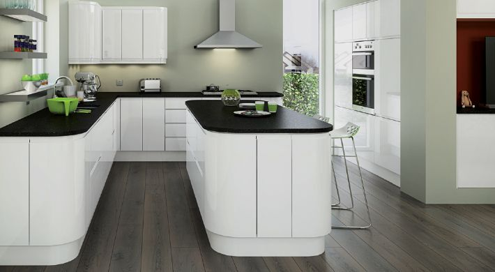 Purely magnet planar white kitchens pinterest fitted for Contemporary fitted kitchens