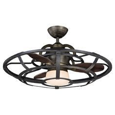 Compact low profile Ceiling fan @ LOWES = $230 www.lowes.com/... #home #lighting #decor