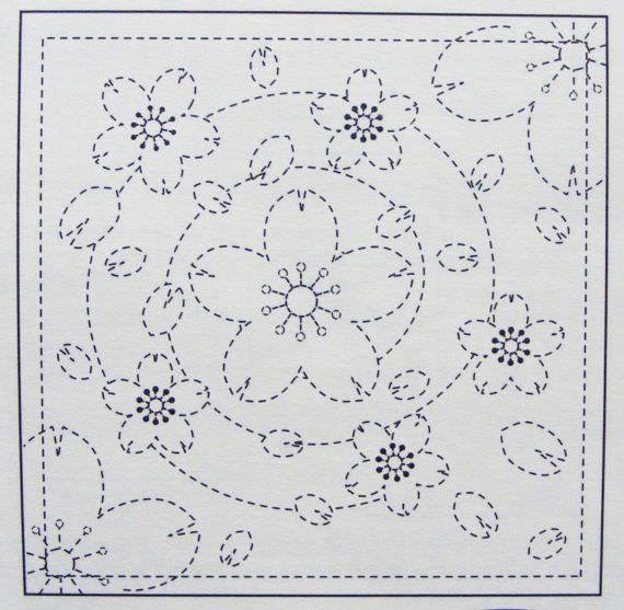 Сашико, старинное японское искусство вышивки, впервые увидело свет в эпоху Эдо - в семнадцатом с...