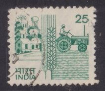 1985 India 25 Paisa Used Stamp | Agriculture Machinery | Agriculture | Tractors | For sale on Delcampe