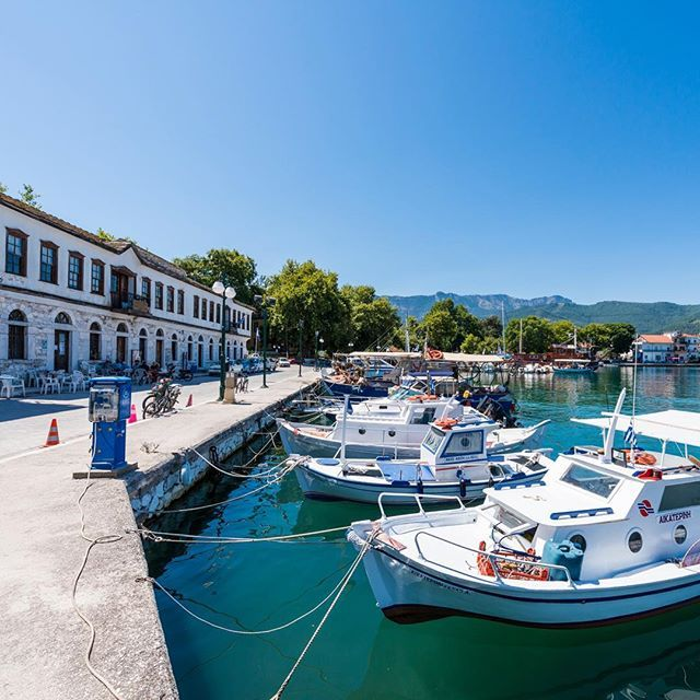 One of my favorite walks on the island is in the old Port of Thassos town. Even on a hot day like today! #thassos #thasos #Thassosnow #visit_thassos #photooftheday #happy #instatravel #insta_greece #thassosisland #summer #instago #instadaily #instatravelling #mytravelgram #travelgram #igtravel #nature #worlderlust #beautiful #iloveellada #instamood #greece #greek_island #paradise #VisitGreece #ig_europe #ig_captures #igers #instacool #greeksummer