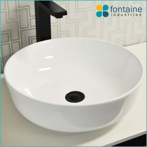 Marissa White Ceramic Basin $109