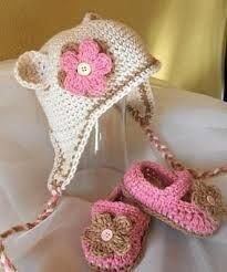 zapatitos para bebes en crochet - Google Search