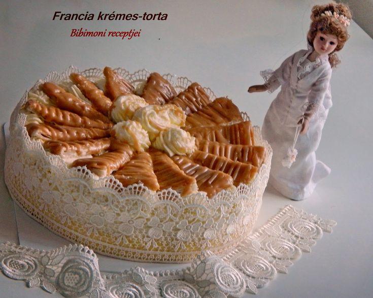 Bibimoni Receptjei: Francia krémes torta