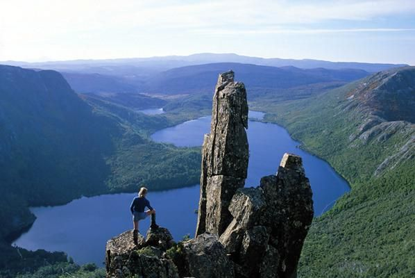 Overland Track, Australia. The 80km Overland Track in Cradle Mountain and Lake St. Clair National Park in Tasmania