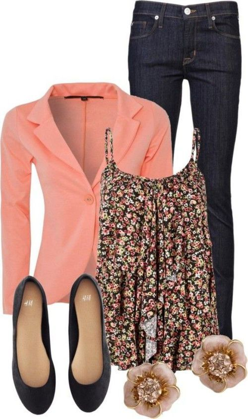 I really love this - unsure about the jacket idea in a Florida summer, though…