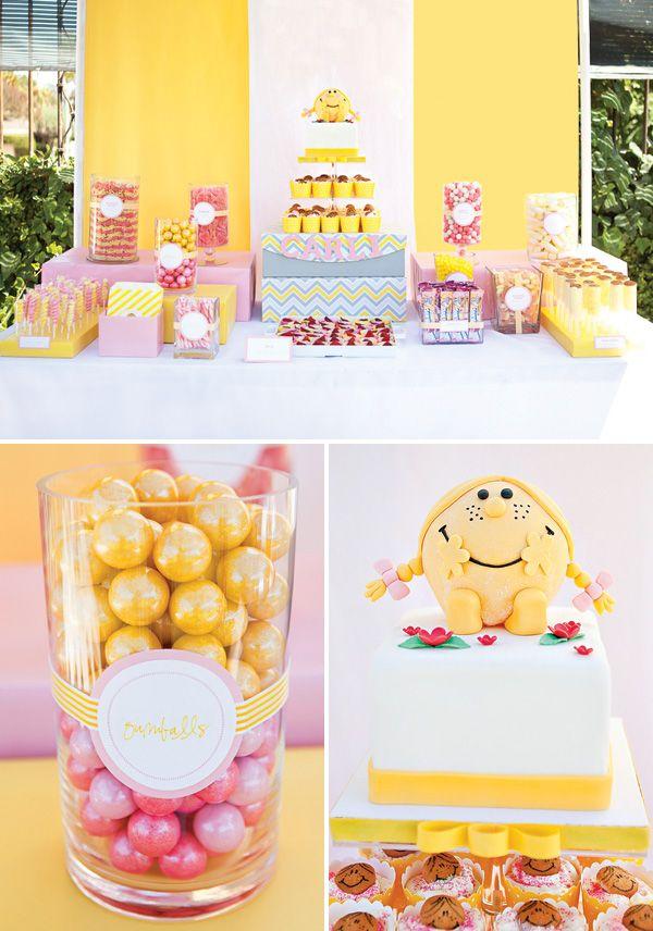 Little Miss Sunshine Birthday Cake