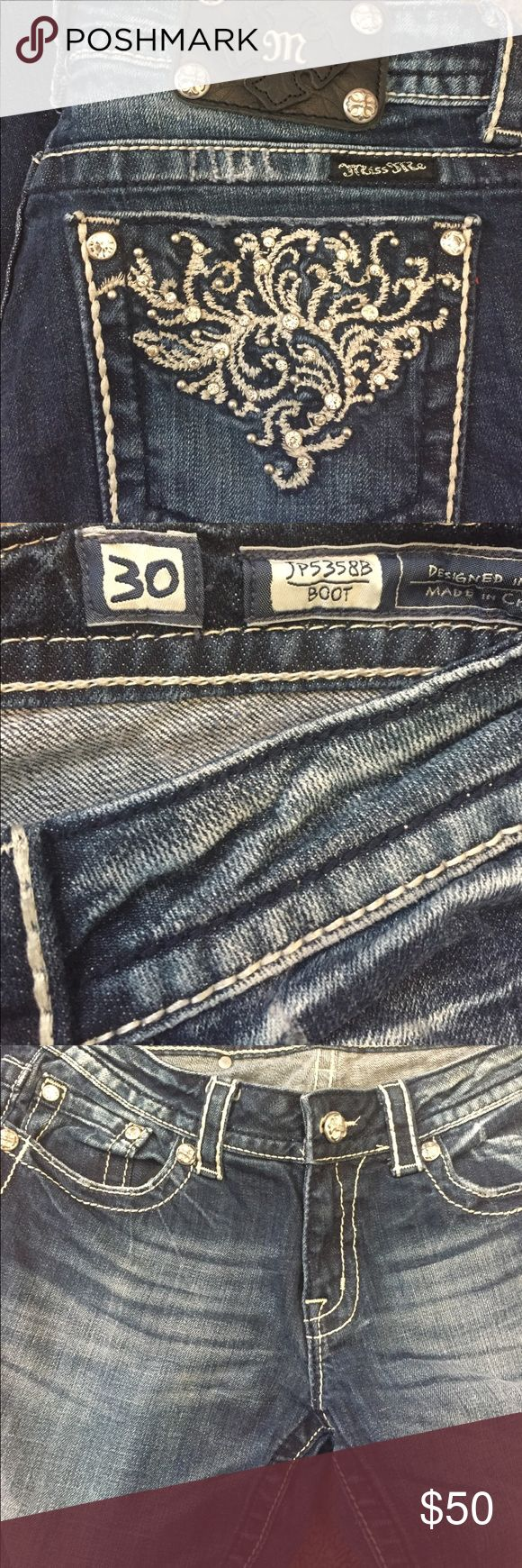 Miss Me Jeans Great condition! Inseam 30 inches. Miss Me Jeans Boot Cut
