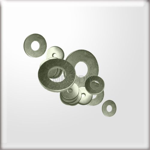 M6 (6mm hole) x 25mm Diameter Zinc Plated PENNY WASHERS Fits Our Bolts & Screws