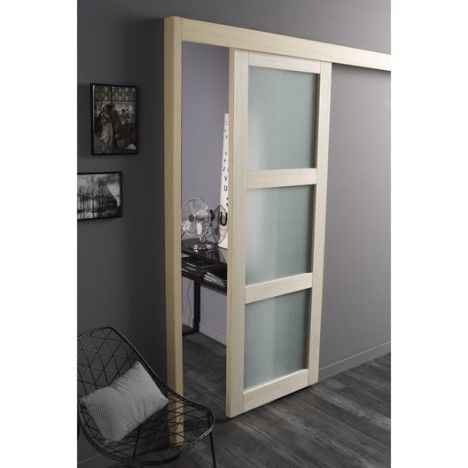 99 best images about idee deco on pinterest ps petite - Rail de porte coulissante castorama ...