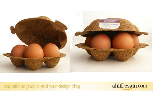 Coconut Fiber Egg Packaging