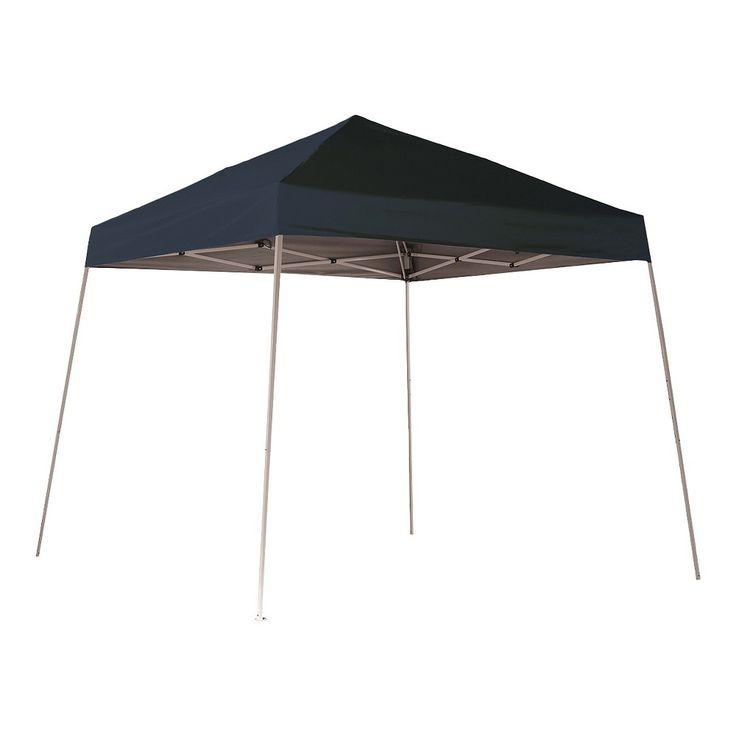 Shelter Logic 8' x 8' Sport Slant Leg Pop-Up Canopy - Black