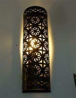Moroccan Iron Wall Lamp Shade - IWL8
