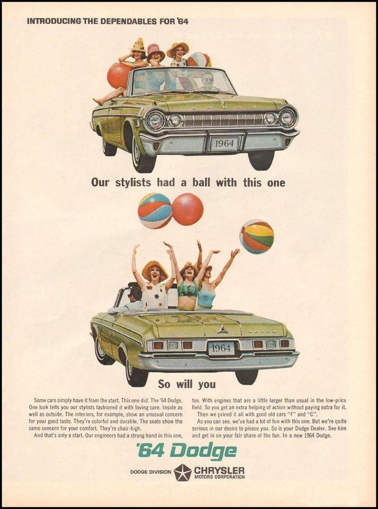 42 best Dodge images on Pinterest   Vintage ads, Vintage ...