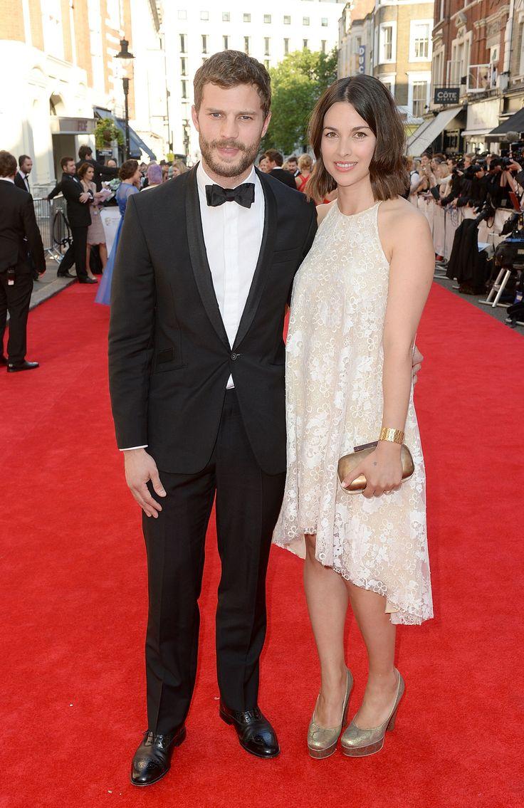 Jamie Dornan And Amelia Warner Attend The BAFTAs At