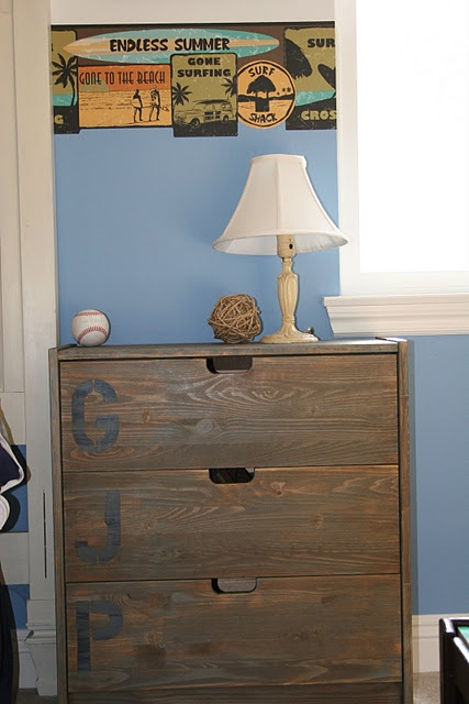 IKEA hack Rast Chest of Drawers