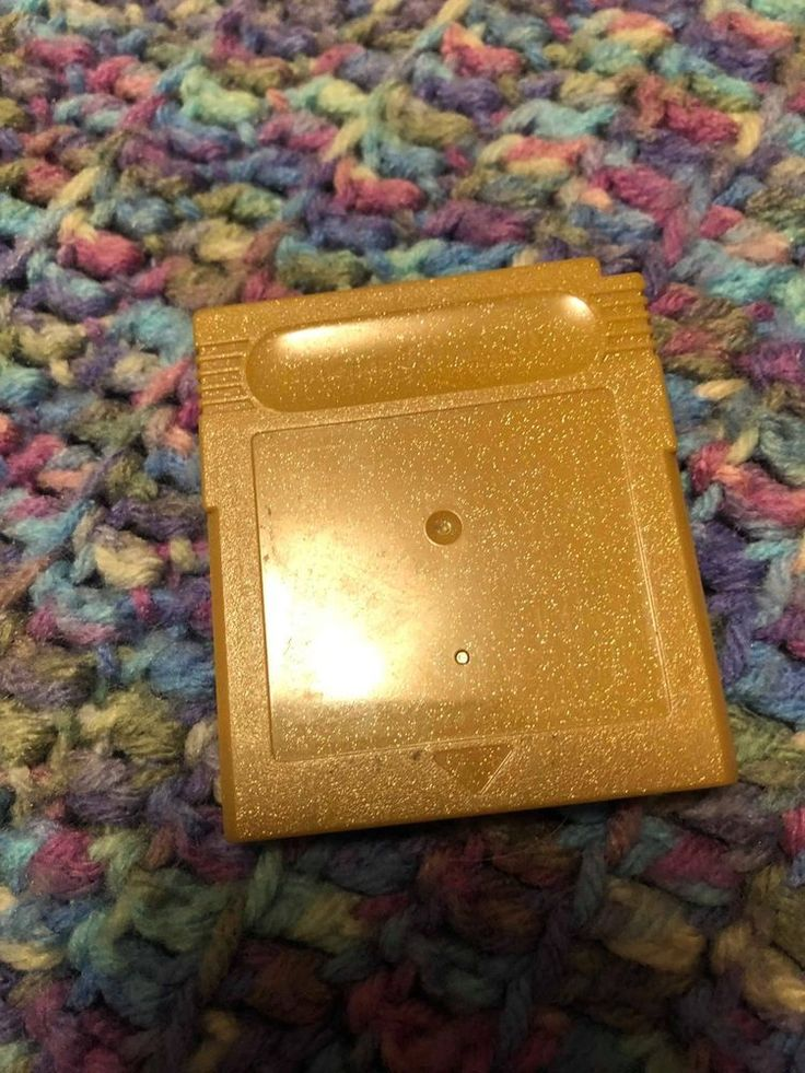 Nintendo Gameboy Color #Pokemon Gold Needs Battery No Label Does Not Save #Nintendo
