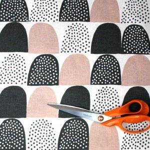 Kauniste Sokeri Pink Finnish Fabric