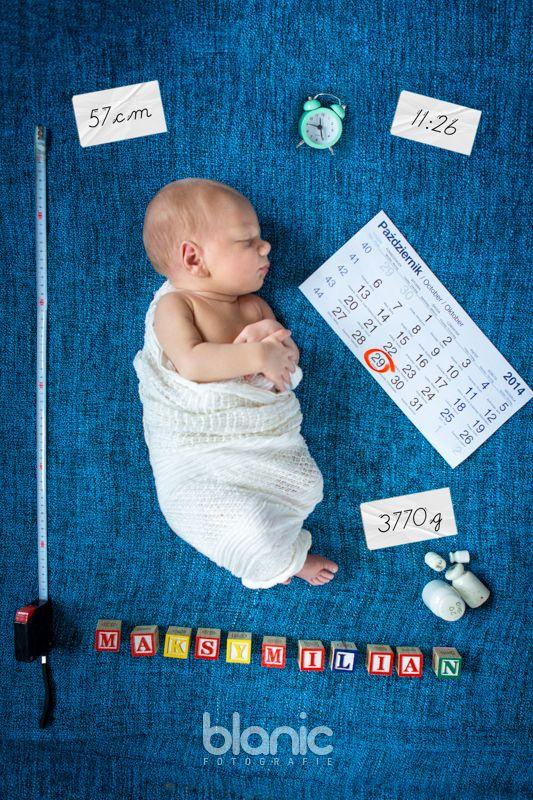 Sesja noworodkowa, metryczka