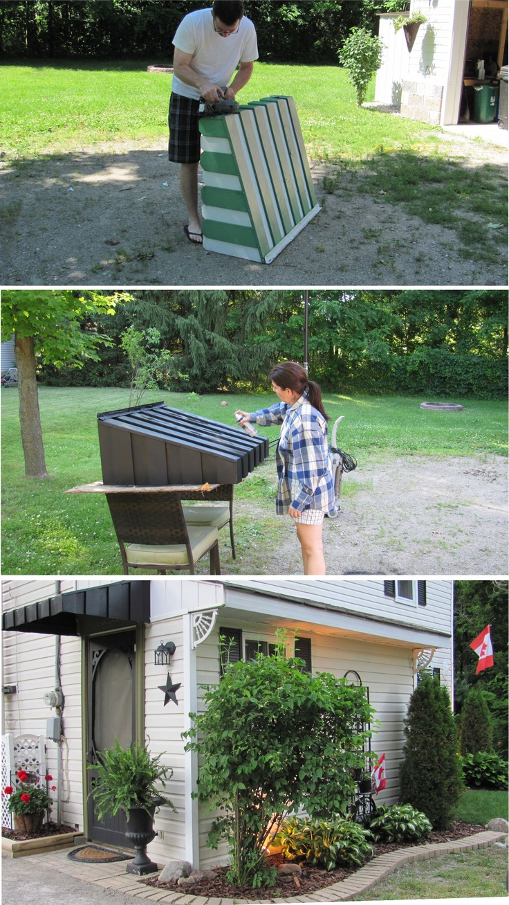 Road Side Treasure~Revamped Awning
