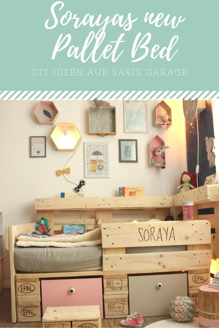 17 best ideas about palettenbett selber bauen on pinterest for Europaletten deko
