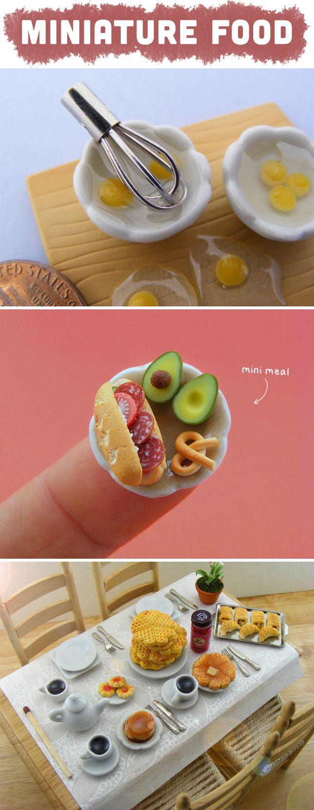 The Cutest Miniature Food | techlovedesign.com