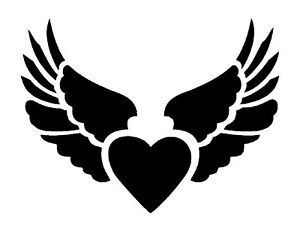 heart-with-wings-stencil-for-Airbrush-Tattoo-craft-Art