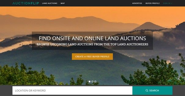 LANDFLIP Launches AUCTIONFLIP to Bring Bidders on Auction Day - https://blog.landflip.com #realestate #auction #marketing